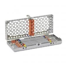 Cassette DIN pour instruments CompoSculp manche 8