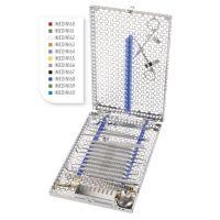 NEW GEN IMS Cassette Signature DIN 16 instruments avec zone pour accessoires