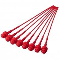 Pistons plastiques n°1 (rouge, 16 pièces)