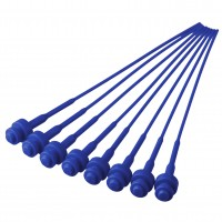 Pistons plastiques n°2 (bleu, 16 pièces)