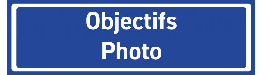 Objectifs Photo