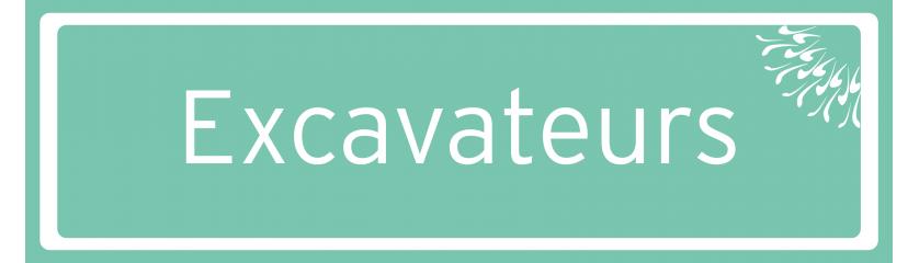Excavateurs