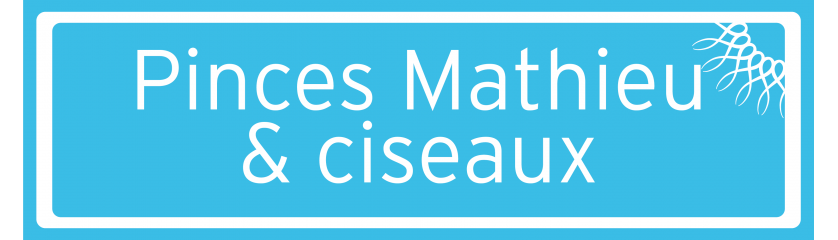 Pinces Mathieu, ciseaux et pinces hémostatiques