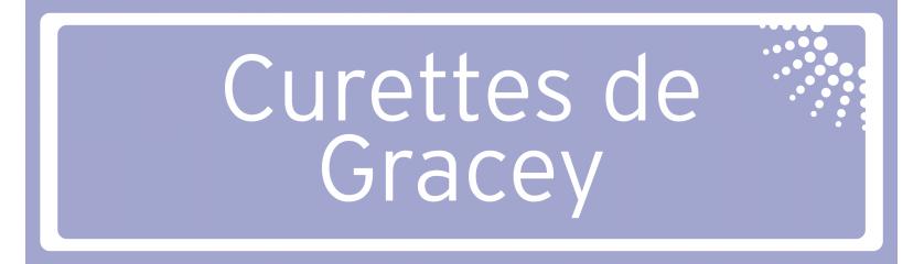 Curettes de Gracey