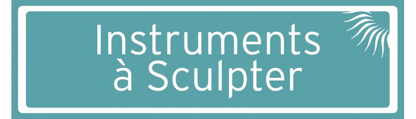 Instruments à Sculpter