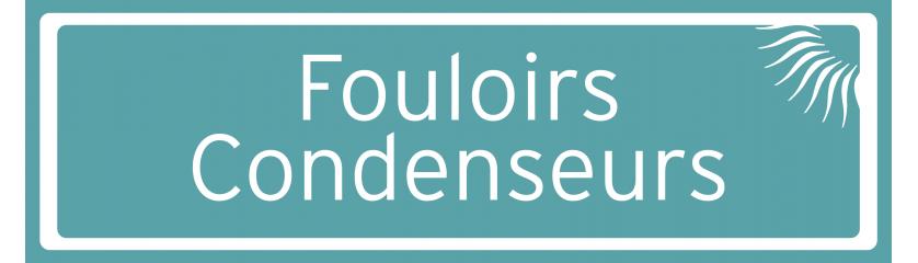 Fouloirs & Condenseurs
