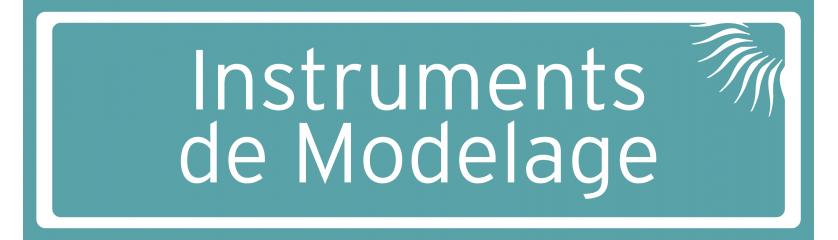 Instruments de modelage P.K. Thomas