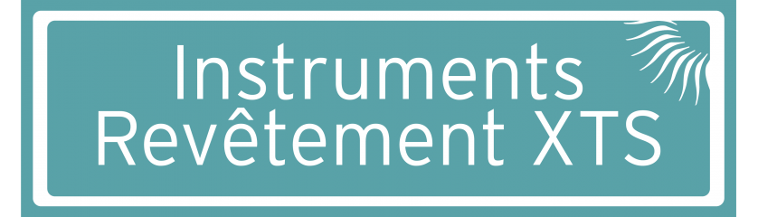 Instruments avec revêtement XTS